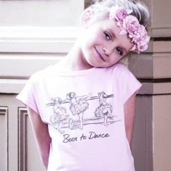 miss ellie at the barre cap sleeve tee