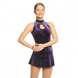 mondor glitter turtle neck dress