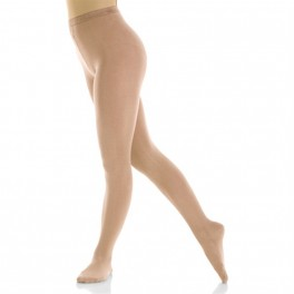 mondor naturals satin footed skating tights