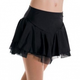 mondor pull-on double skating skirt
