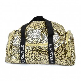 pineapple leopard dancers bag