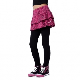 pineapple leopard rara skirt