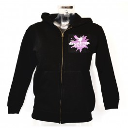 nl leisure dance and stage zipped hoodie
