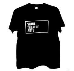 shine theatre arts relaxed fit tee