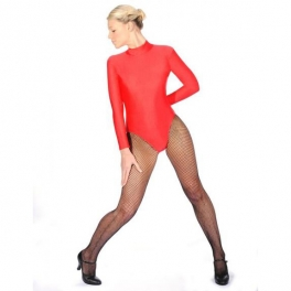 roch valley turtle neck long sleeved leotard