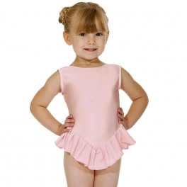 roch valley boat neck frilled leotard
