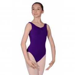 roch valley natasha cotton lycra sleeveless leotard