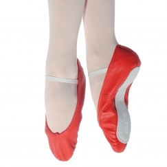 roch valley premium leather full sole ballet shoe