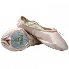 sansha entrechat satin split sole ballet shoe