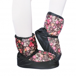 so danca kids and adults patterned warm up booties