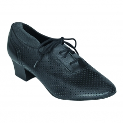 "so danca 1.5"" perforated leather practice shoe"