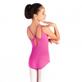so danca petal back camisole leotard
