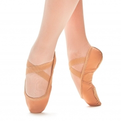 so danca superpro leather split sole ballet shoe
