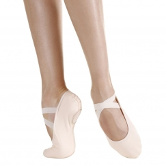 so danca superpro stretch canvas split sole ballet shoe