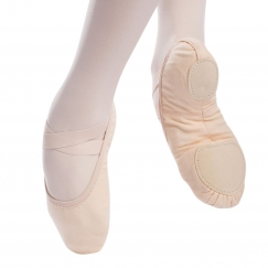 so danca vegan split sole canvas ballet shoe