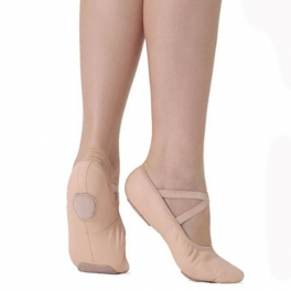 so danca stretch leather ballet shoe