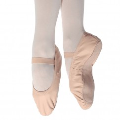 so danca full sole stretch leather girls ballet shoe