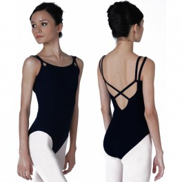 sonata looped double back cotton leotard