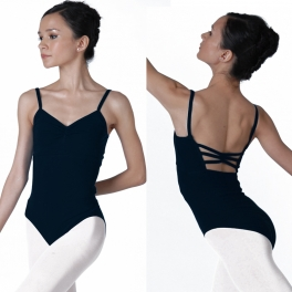 sonata butterfly cotton camisole leotard