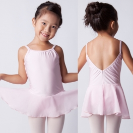 sonata skirted camisole leotard