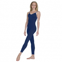 sonata cotton lycra ruched footless unitard