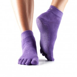 toesox ankle full toe grip socks