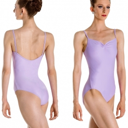 wear moi abbie ruched camisole leotard
