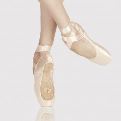 wear moi alfa pointe shoe - reinforced hard shank