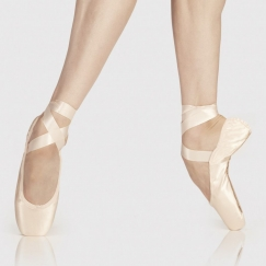 wear moi alfa pointe shoe - medium shank
