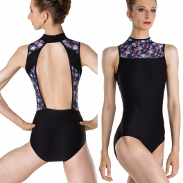 wear moi ariane midnight mesh turtle leotard