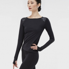wear moi chantilly clochette collection long sleeve top