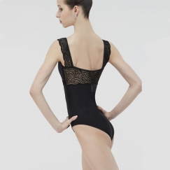 wear moi erine dentelle collection tank leotard