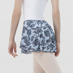 wear moi hassium rose flock collection dance skirt