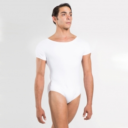wear moi igor microfibre cap sleeve leotard
