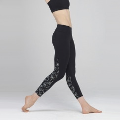 wear moi leonie mini flower microfibre leggings