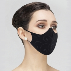 wear moi embossed face mask