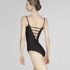 wear moi marquise v back microfibre camisole leotard