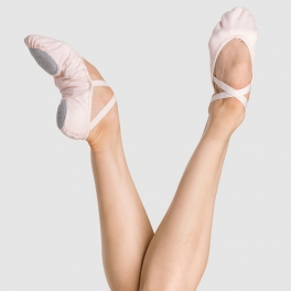 wear moi neptune professional canvas ballet shoe