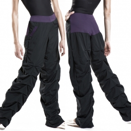 wear moi talis taffeta warm up pants
