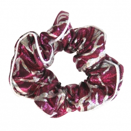 the zone electra hair scrunchie