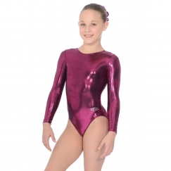 the zone glam long sleeve gymnastics leotard