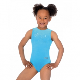 the zone butterfuly jewel motif sleeveless leotard