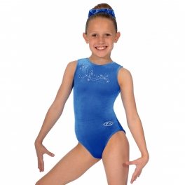 the zone fanfare jewel motif gym leotard