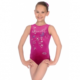 the zone panache sleeveless jewel leotard