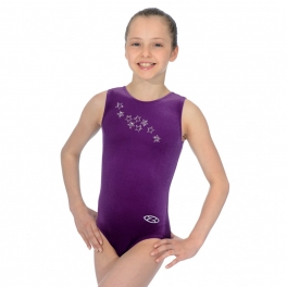 the zone roxy jewel sleeveless leotard