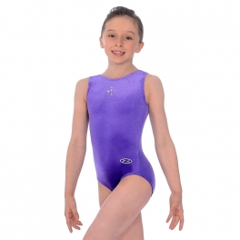 the zone sparkle sleeveless leotard