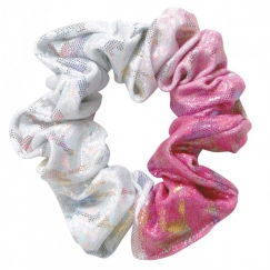 the zone delight gymnastics hair scrunchie