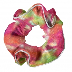 the zone opal gymnastics hair scrunchie