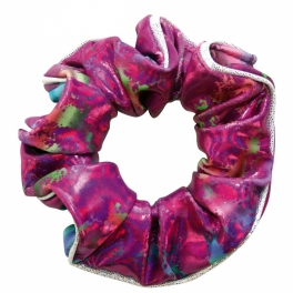 the zone orchid hair scrunchie