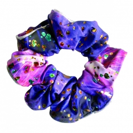 the zone twilight hair scrunchie